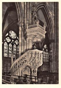 Freiburg i Breisgau Munster Kanzel Cathedral Interior