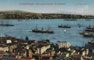 CONSTANTINOPLE, Turkey, 1900-10s; Vue panaromique de Scutari