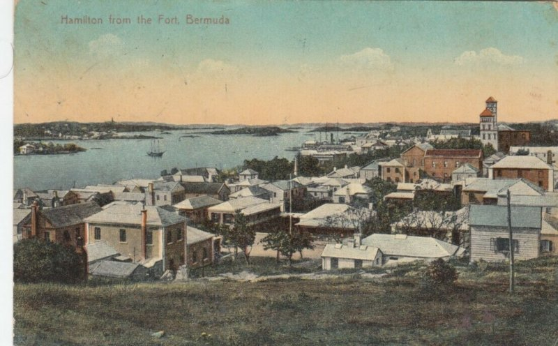 BERMUDA, 1900-10s ; HAMILTON from the Fort # 2