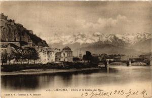 CPA GRENOBLE - L'ISERE et le Chaine des Alpes (654906)