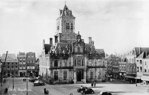 Netherlands Delft, Raadhuis, Rathaus, City Hall, auto cars voitures