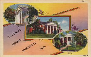 Colonial homes , HUNTSVILLE , Alabama , 30-40s