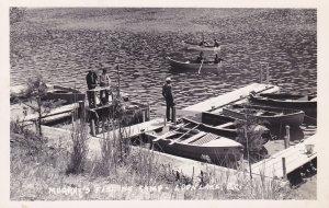 LOON LAKE, B.C., Canada, 30-40s;  Boat Docks , Murray's Fishing Camp