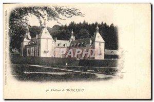 Old Postcard Chateau Montjeu