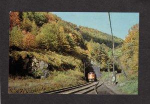 MA Hoosac Tunnel Train Railroad FLORIDA MASS Mohawk Trail Postcard Massachusetts
