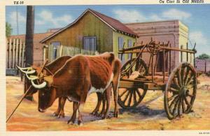 Mexico - Ox Cart & Oxen