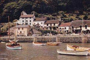Lymouth Harbor & Mars Hill , Devon , England, 1950