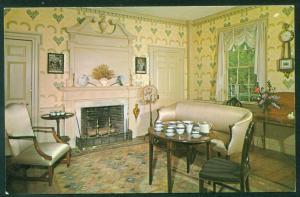 Parlor General Salem Towne Old Sturbridge Village Federal Furniture Postcard