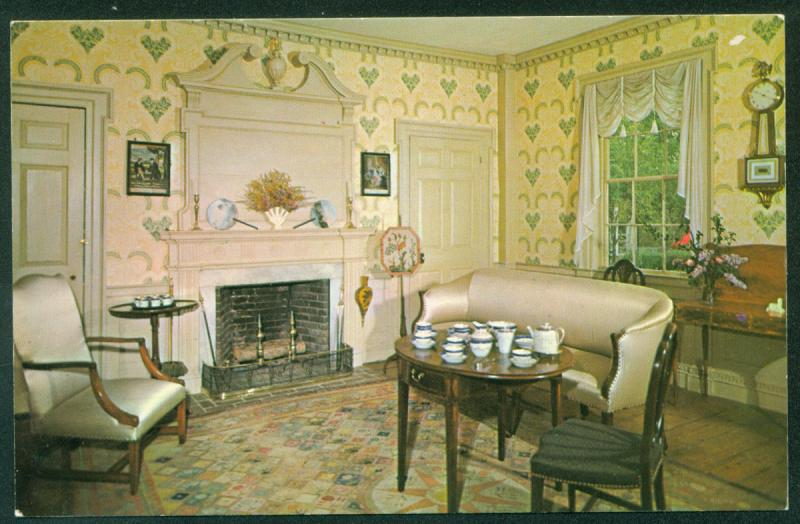 Parlor General Salem Towne Old Sturbridge Village Federal Furniture  Postcard / HipPostcard