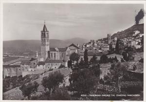 Italy Assisi Panorama Parziale dal Giardino Margherita