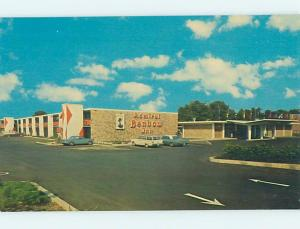 Pre-1980 OLD CARS & ADMIRAL BENBOW INN MOTEL Pine Bluff Arkansas AR ho5116