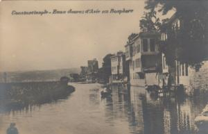 RP; CONSTANTINOPLE, Turkey, 00-10s;  Eaux douces d'Asie au Bosphore