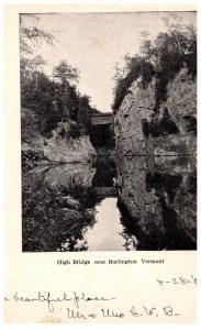 Vermont  Burlington , High Bridge , Covered Bridge