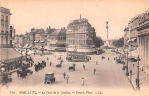 Bordeaux France La Place de la Comedie, Comedy Place Bordeaux La Place de la ...