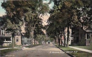 New York Ithica North Geneva Street 1909