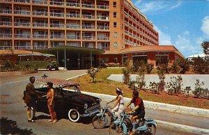 Entrance Bermudiana Hotel Hamilton Bermuda Unused