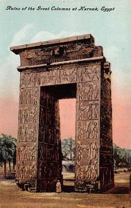 Karnak Egypt, Egypte, Africa Ruins of the Great Columns Karnak Ruins of the G...