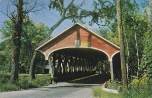 Lancaster NH, New Hampshire - Entrance to Covered Bridge
