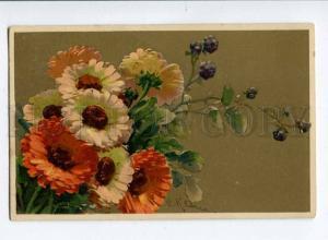 257470 Bouquet & blackberry by C. KLEIN vintage GOM #1324 PC