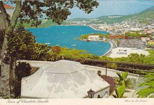 St Thomas Charlotte Amalie and Harbor