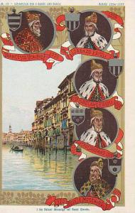 Kings,Venezia Ed I Suoi Izo Dogi,I Tre Palazzi Mocenigo Nel Canal Grande,Vene...