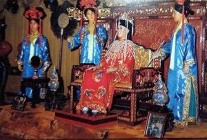 Empress Dowager & Courtmaids, Hong Kong - unused