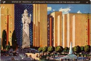 Golden Gate International Expo San Francisco Pacifica stature Golden West