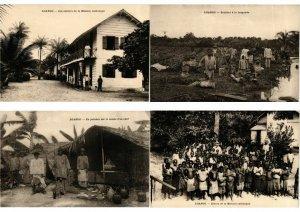 LOANGO CONGO FRANCAISE FRENCH CONGO AFRIQUE AFRICA 9 CPA (L2323)