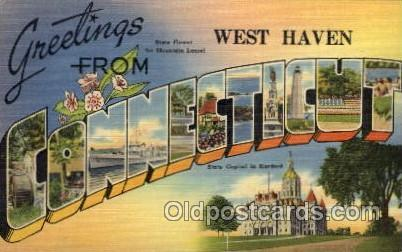 Danielson, Connecticut Large Letter Town Towns Post Cards Postcards  Danielso...