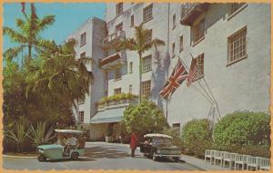 Tucker's Town, Bermuda - Entrance to Castle Harbour Hotel -