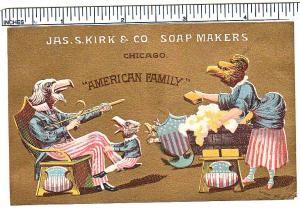 Jas.S. Kirk & Co. Soap Makers, Chicago American Family