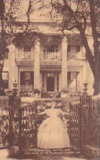 Mississippi Natchez Stanton Hall Club House Of The Pilgrimage Garden Club Artvue