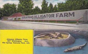 Arkansas Hot Springs Arkansas Alligator Farm