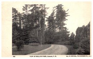 New Hampshire  Concord , View of Rollins Park