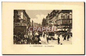 Old Postcard Marseille The Cannehiere