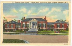Alumnae House, Woman's College of the University of North Carolina, Greensbor...