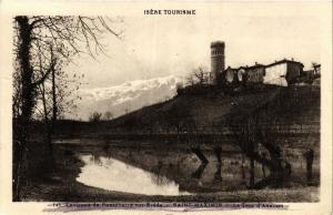 CPA   Environs de Pontcharra-sur-Bréda-Saint-Maximin - La Tour d'Avallon(434675)