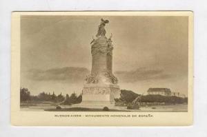 RP, Monumento Homenaje De Espana, Buenos Aires, Argentina, 1920-40s