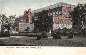 USA Philadelphia Horticular Hall, Fairmount Park