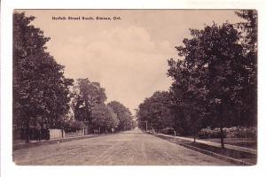 Norfolk Street, Simcoe, Ontario, B&W Rumsey