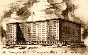 MN - Minneapolis. The Leamington Hotel