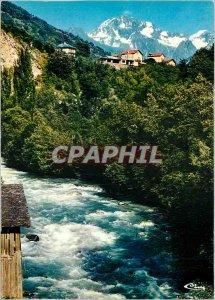 Postcard Modern Brides les Bains Savoie Doron Basically the Vanoise massif