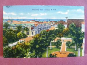 Postcard Jamaica British West Indies BWI Commercial Kingston