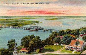Mississippi Pascagoula Beautiful Scene Of The Singing River