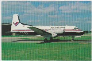 G-VAJK Venture Airways No. A40 Hawker Siddeley HS.748 at East Midlands Airpor...