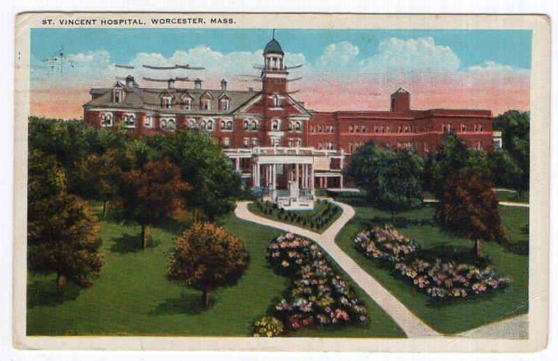 Worcester, Mass, St. Vincent Hospital