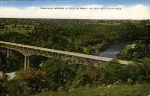 Memorial Bridge at Clay's Ferry Misc KY unused