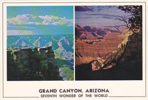 Mather Point and Sunset Grand Canyon National Park Arizona