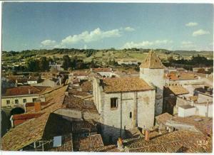 France, Sainte-foy-la-grande, Gironde, La tour des Templiers, 1987 used Postcard