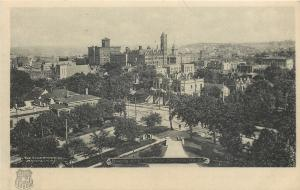 Omaha Nebraska~Bird's Eye Downtown Panorama~1905 B&W Albertype Co